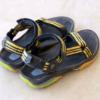 旅行中に履くサンダルはいつもTEVA。選択基準は歩きやすく滑りにくいこと。