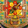 セラ寺の砂曼荼羅
