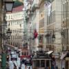 リスボンには雨がよく似合う