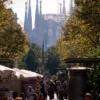 秋のバルセロナ