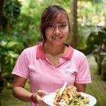 今日のランチもインドネシア料理