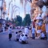 3年に一度のお祭りが始まる。カメラを持って古都のお寺へGo!