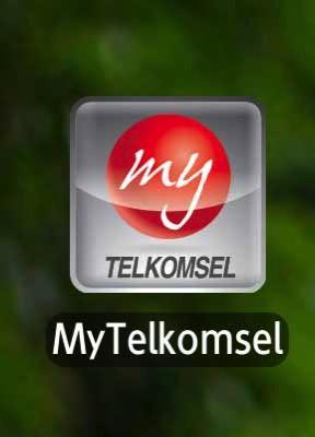 テレコム社のアプリMy Telkomsel