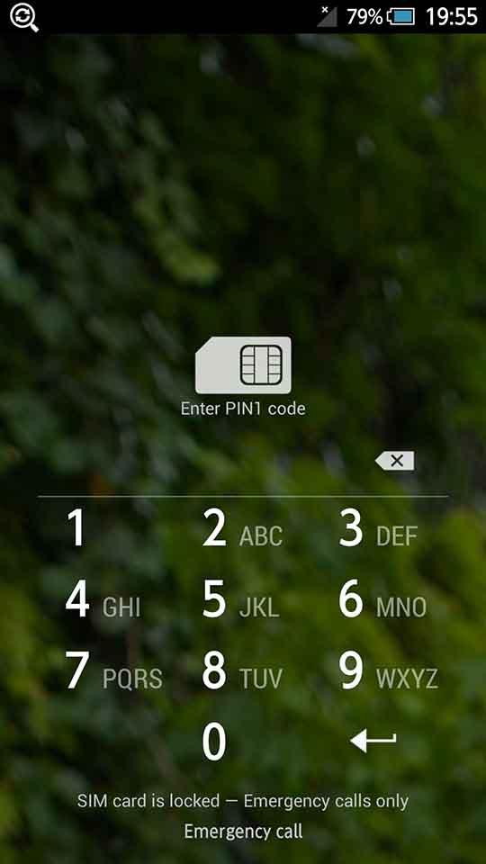 ボーダフォンのSIMのロック解除