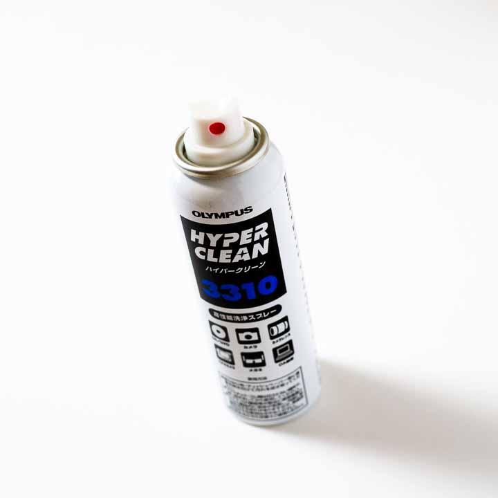 レンズの清掃に使うレンズクリーナー