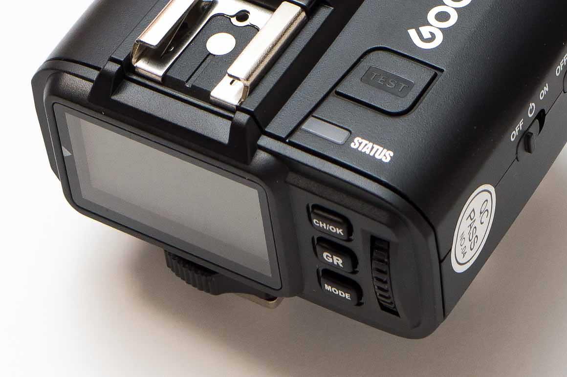 Godox製ワイヤレスストロボのトリガー2