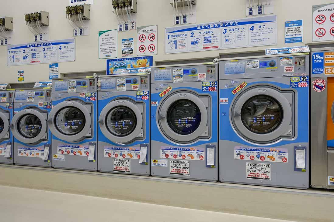 布団も洗える大型ドラム式洗濯機