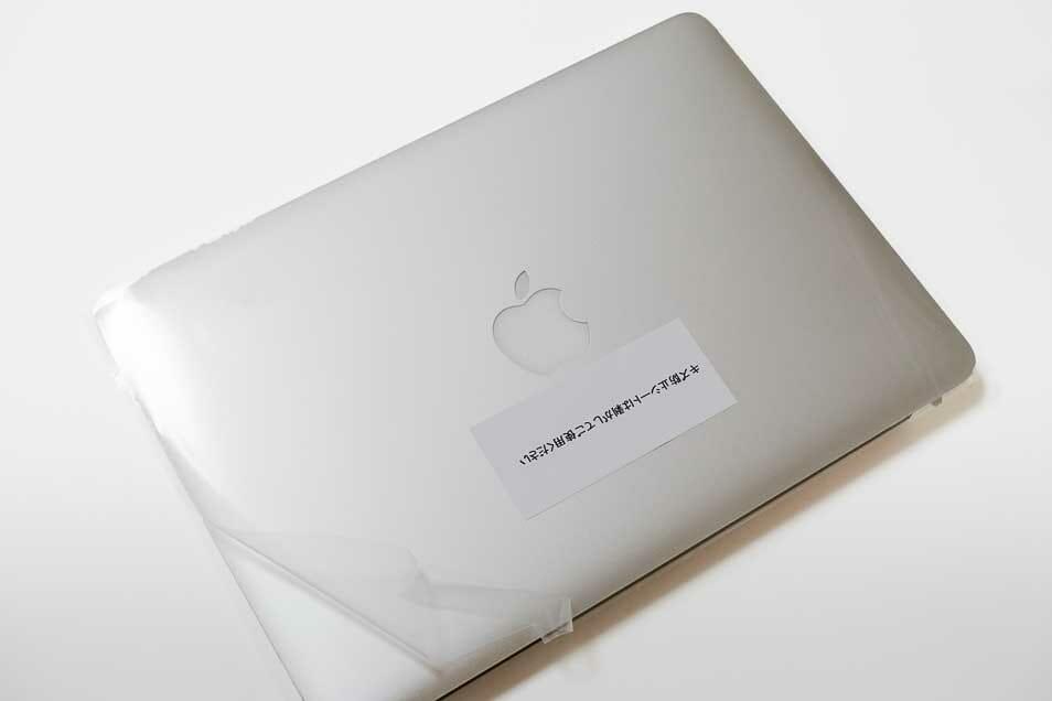 バッテリーが交換されたMacBookPro