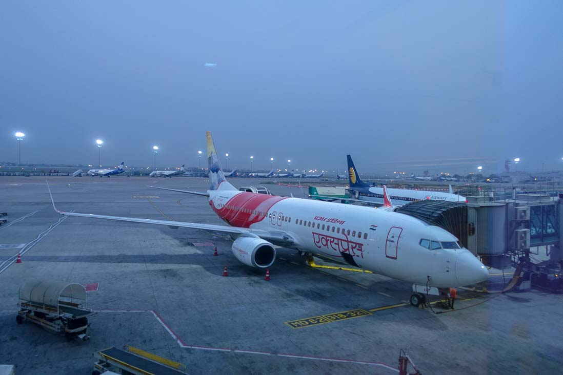 インディラ ガーンディー国際空港