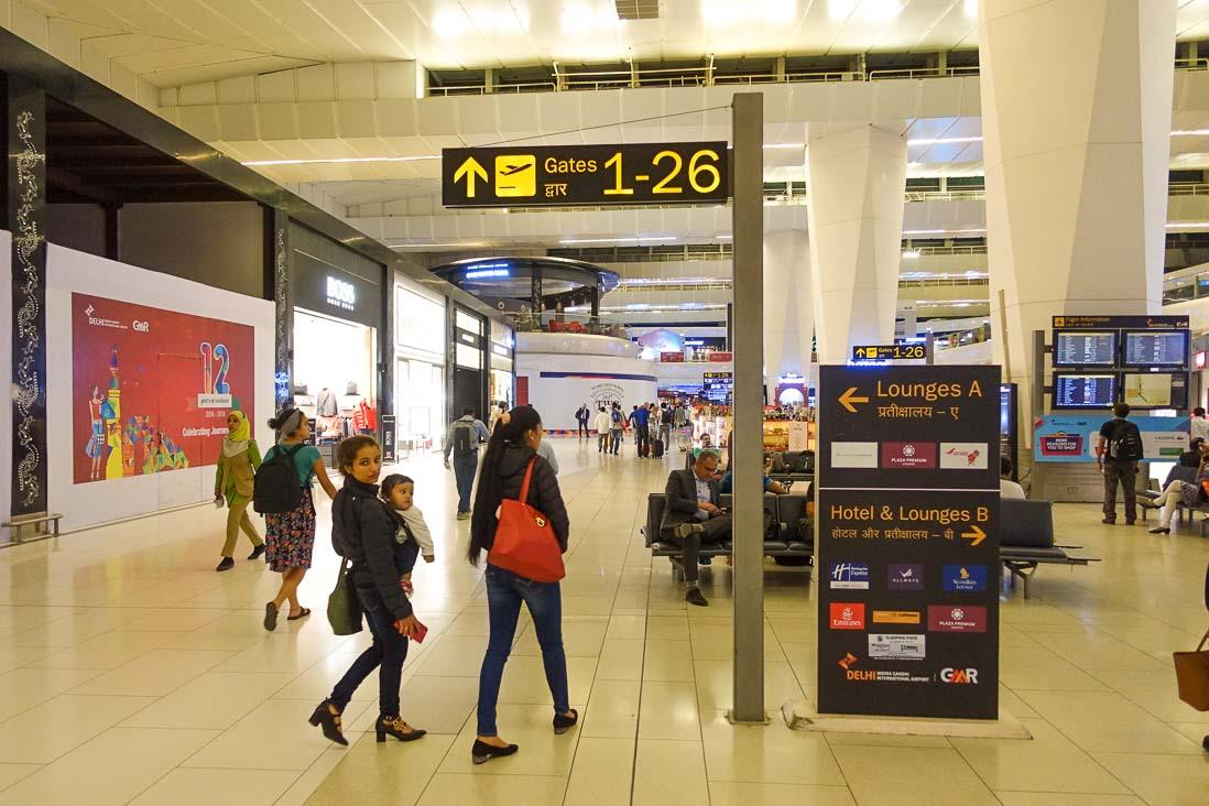インディラ ガーンディー国際空港の免税店