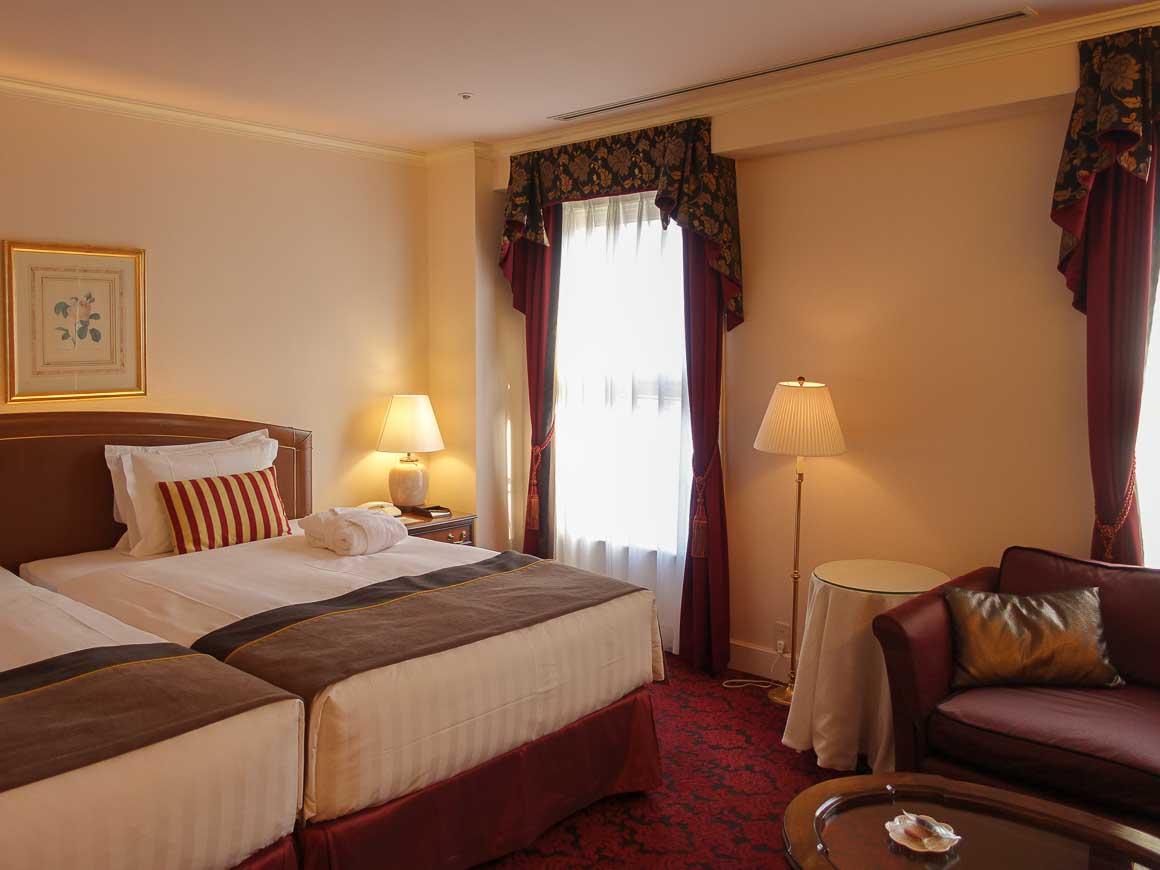 神戸北野ホテルの客室