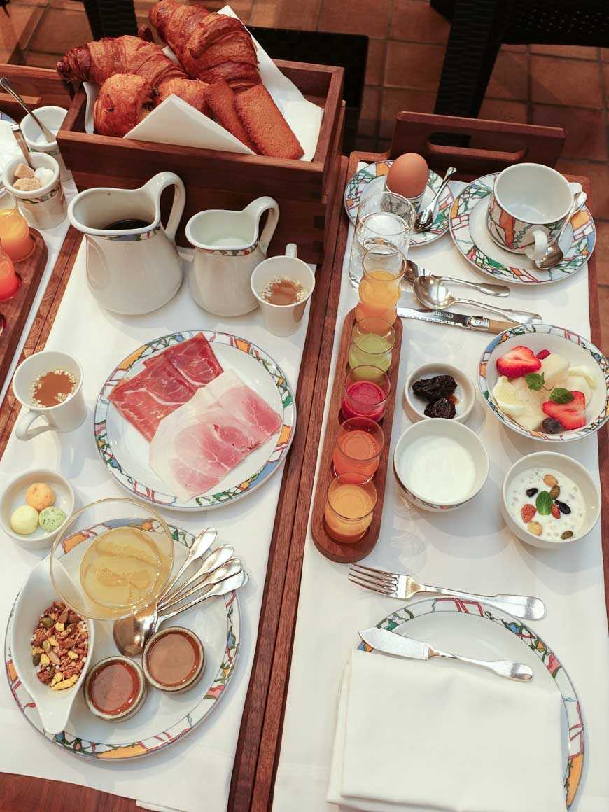 神戸北野ホテルの世界一の朝食