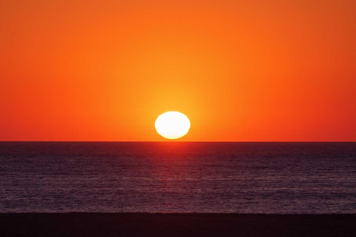 ナザレの夕陽 020