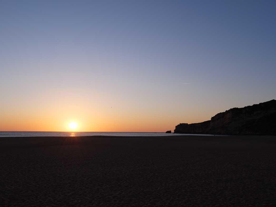 ナザレの夕陽 012