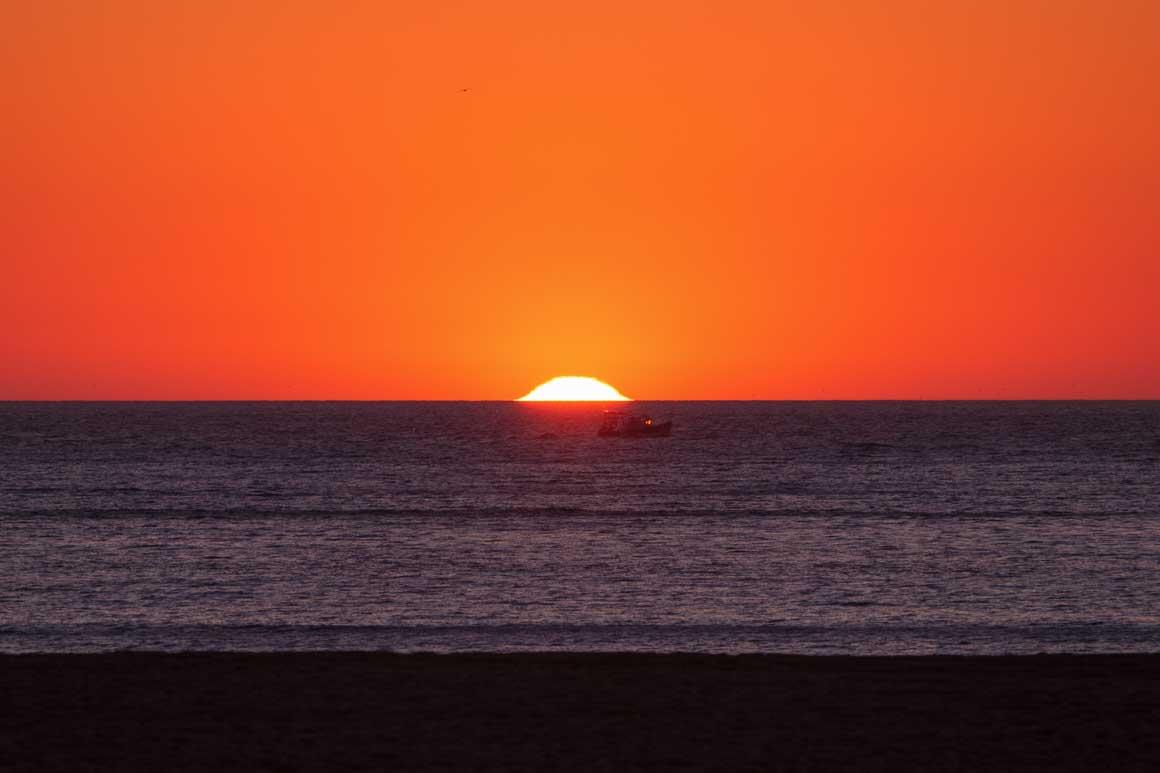 ナザレの夕陽 030