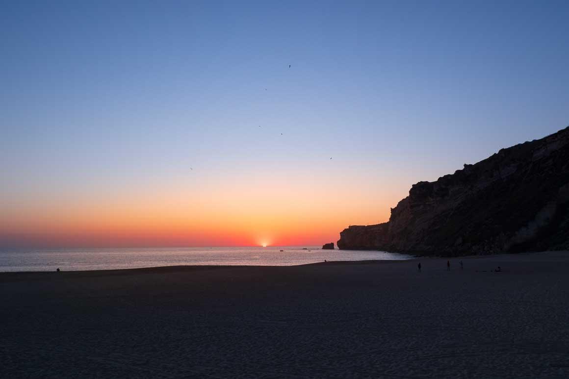 ナザレの夕陽 069