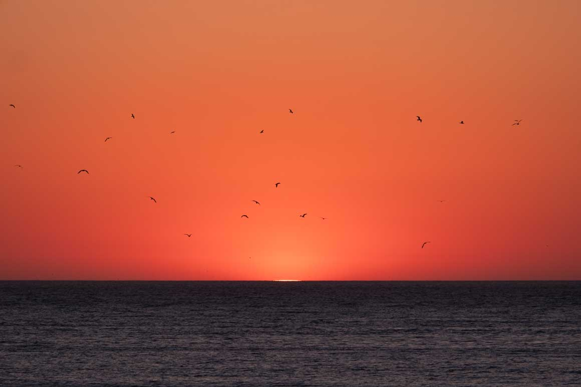ナザレの夕陽 036