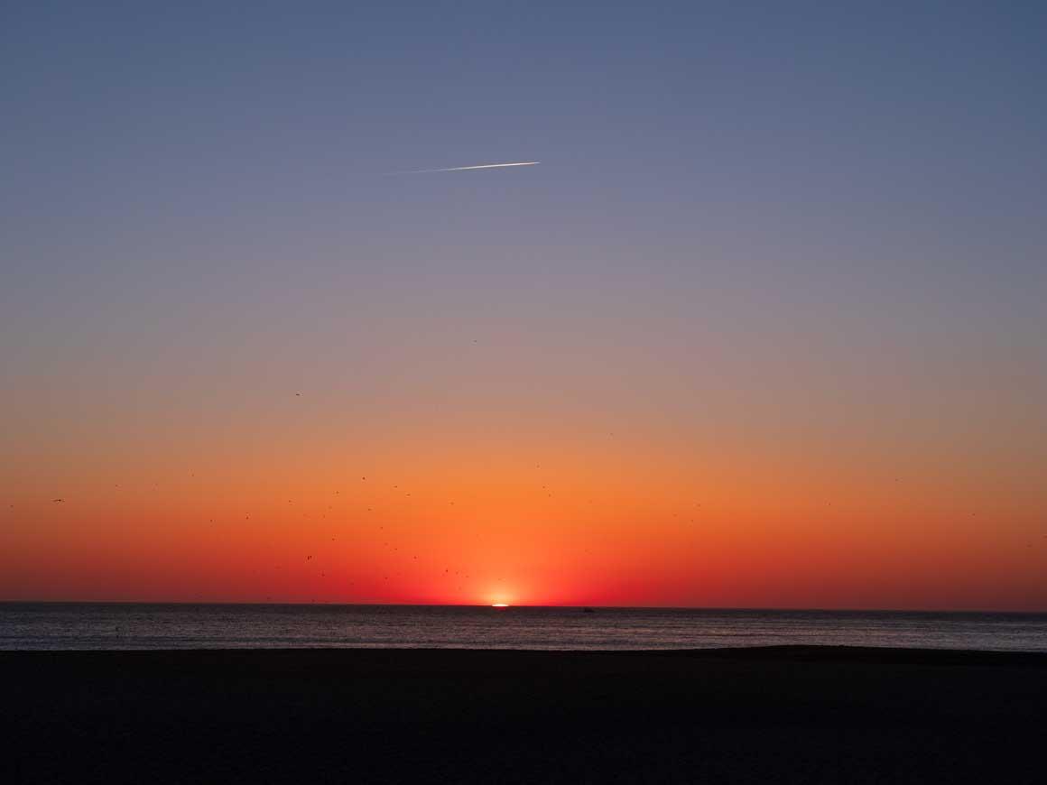 ナザレの夕陽 034