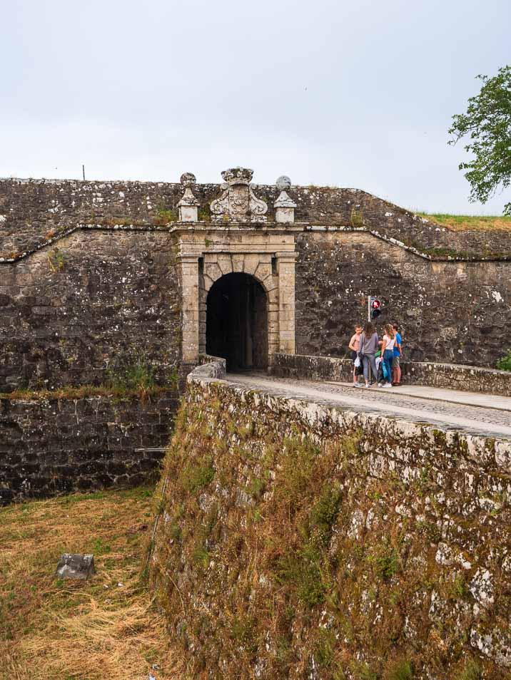 ポルトガルの要塞都市ヴァレンサ(バレンサ)の入口