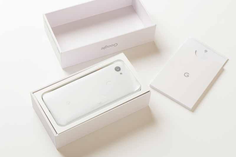 Google pixel3aの箱