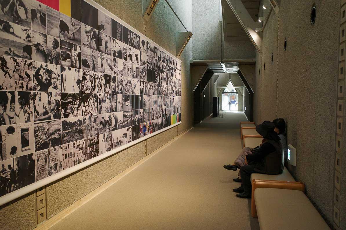 奈良原一孝の写真展、スペインの旅