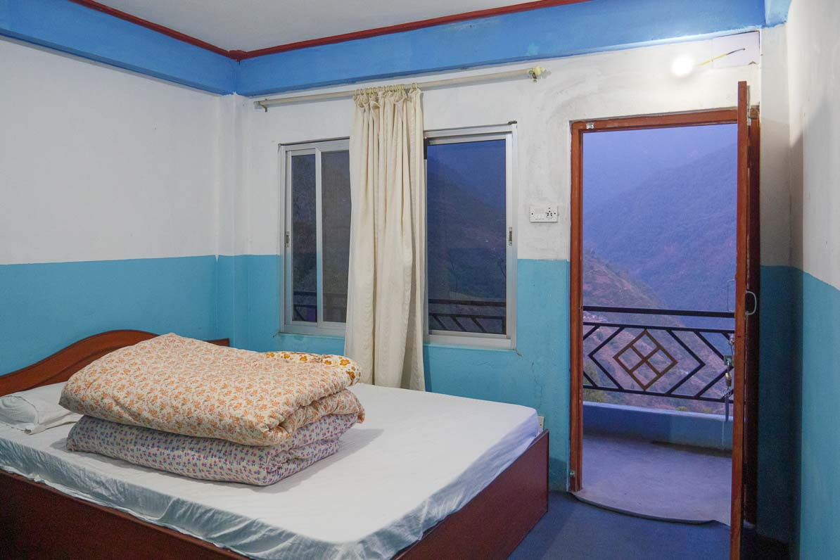 シッディンの宿の部屋