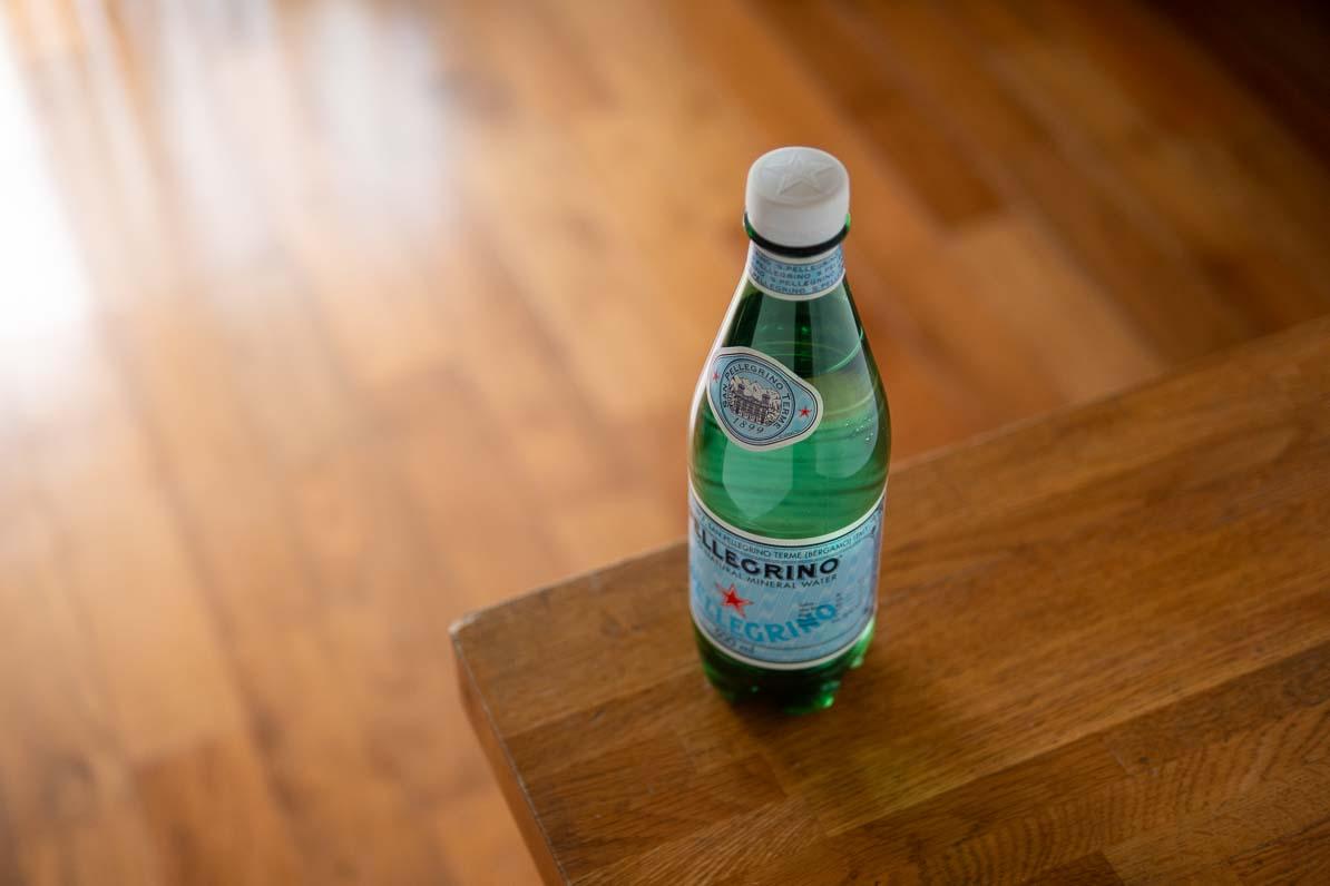 S.Pellegrino サンペレグリノのボトル