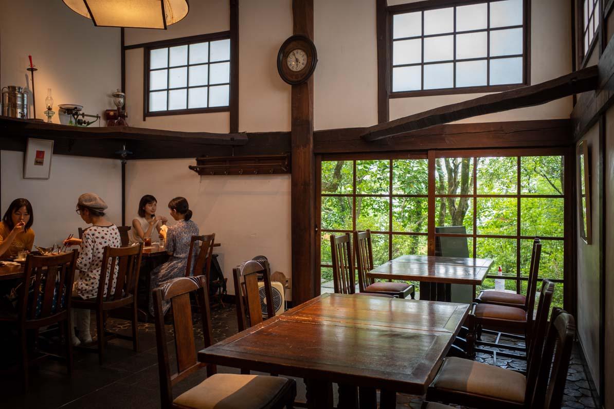 武相荘のカフェ