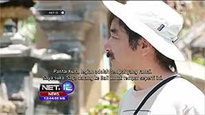 インドネシアのテレビに出演