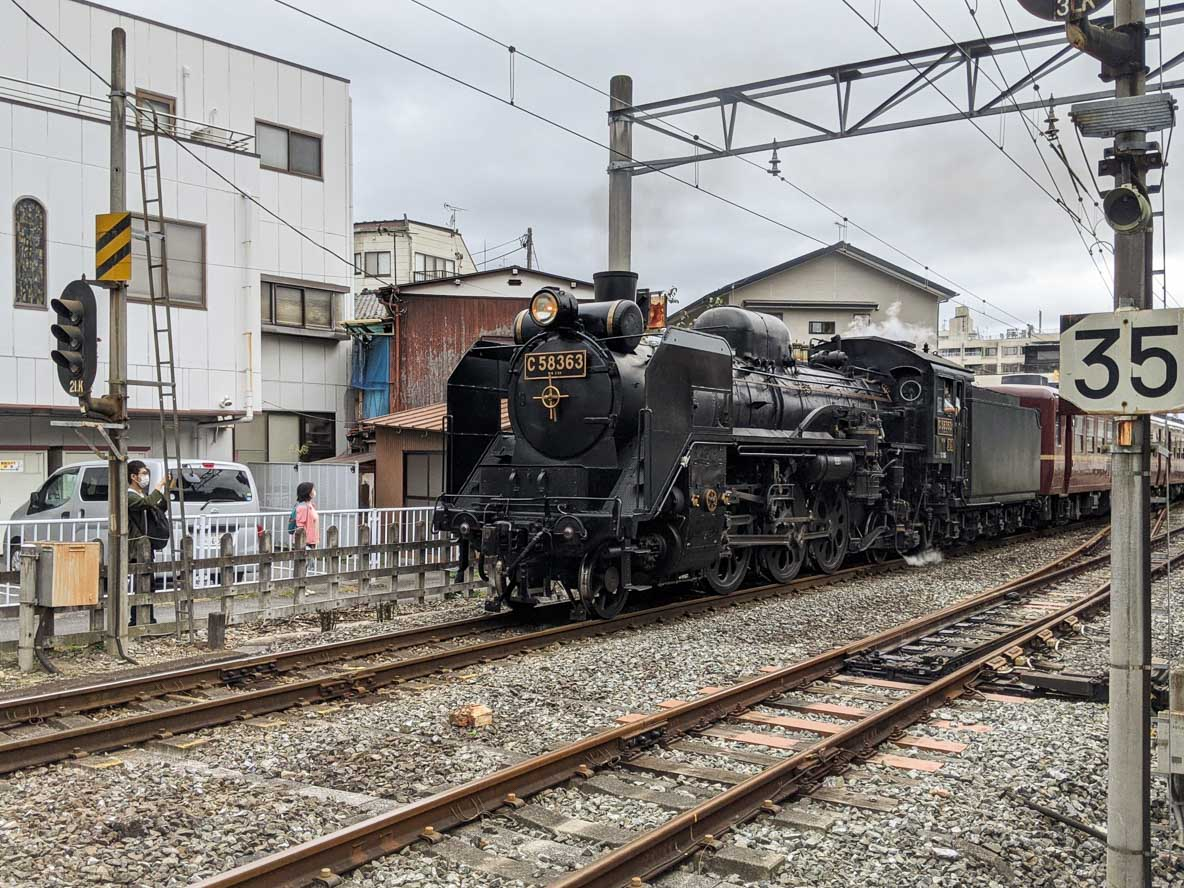 秩父鉄道の蒸気機関車